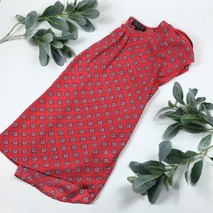 Papermoon > Red Short Sleeve Blouse > S